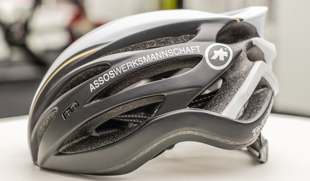 ASSOS road cycling bicycle helmet