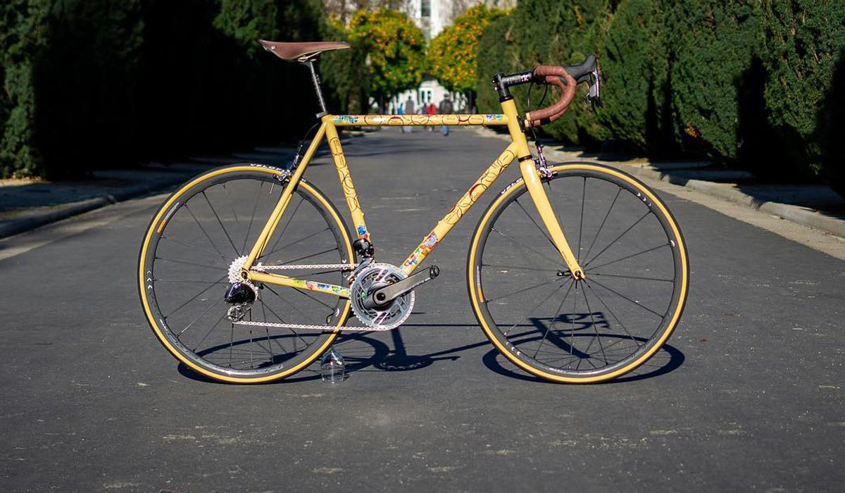Dario Pegoretti custom steel road bikes SRAM Red eTap AXS
