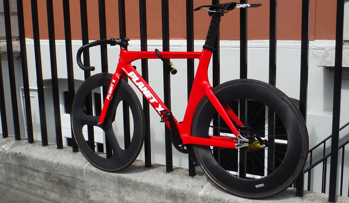 Planet X Track Cycling bike
