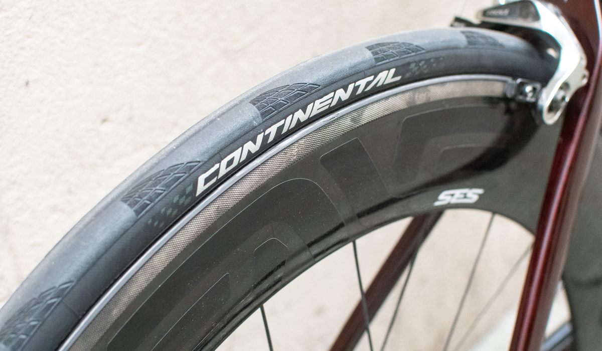 Continental tyres on ENVE SES wheels