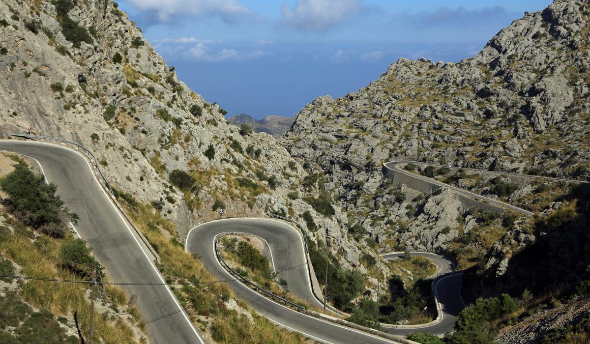 Sa Calobra in Mallorca