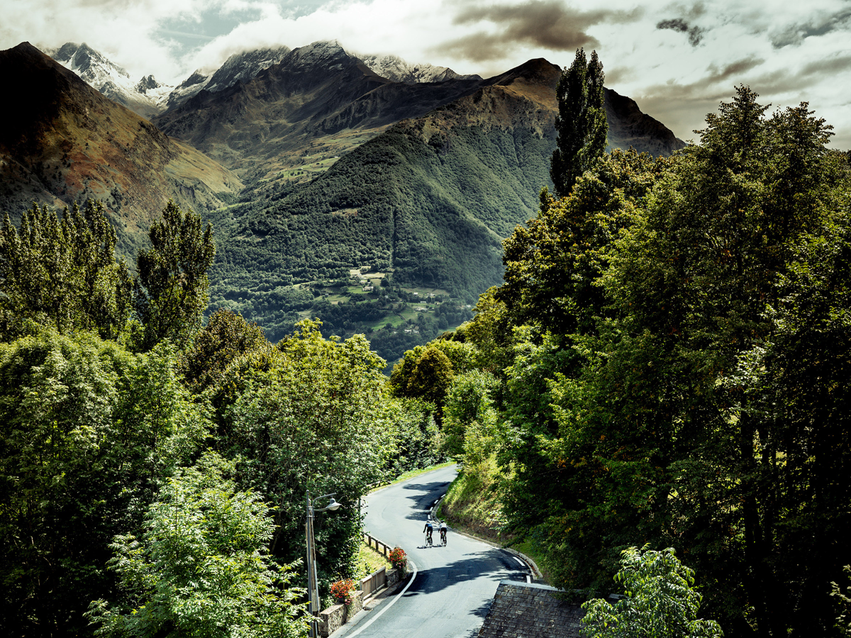 Some of the best cycling holidays are in Europe (Credit: Daniel Hughes)