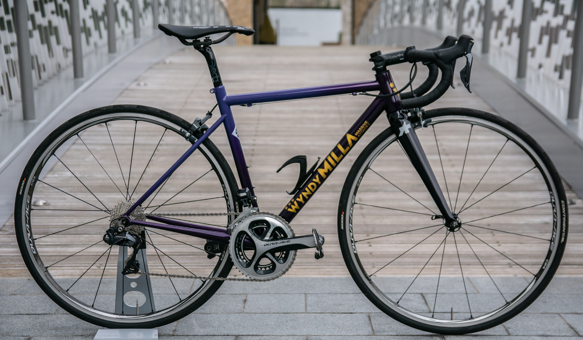Steel Wyndy Milla road bike