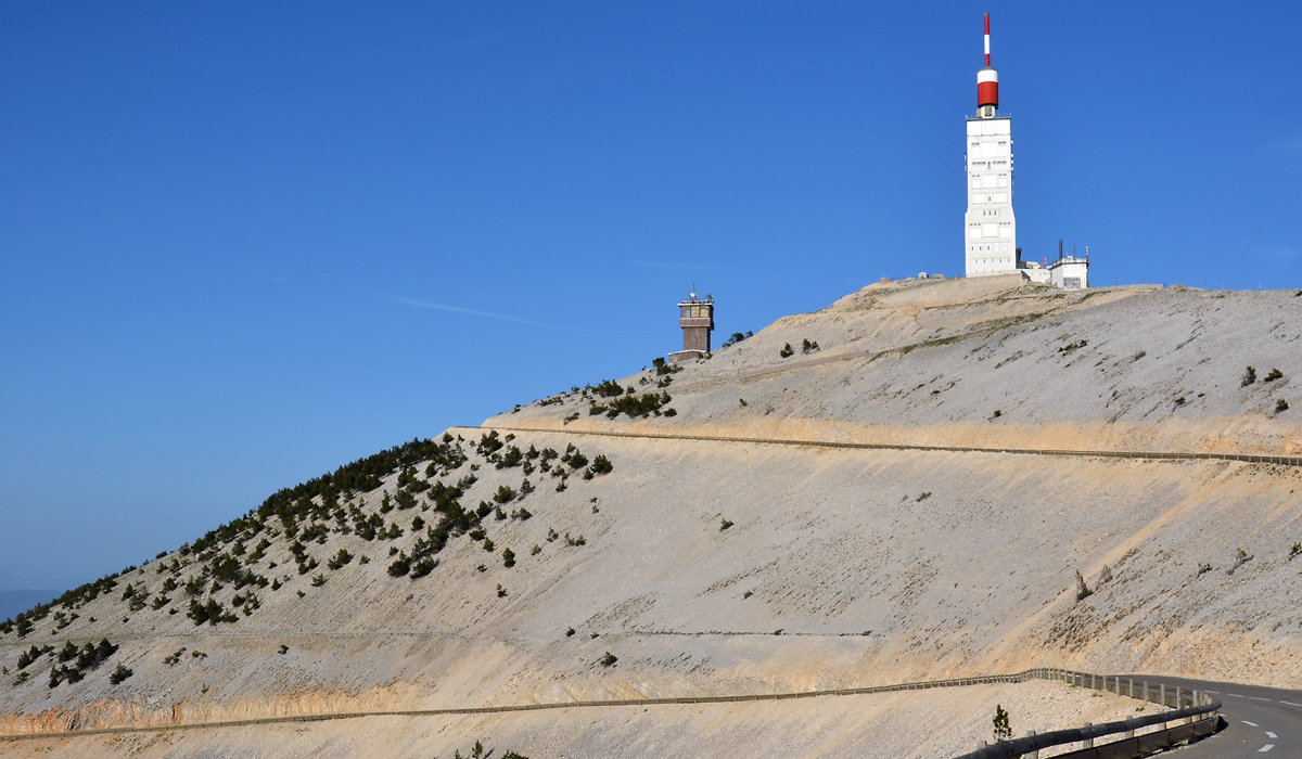 Mont Ventoux in France