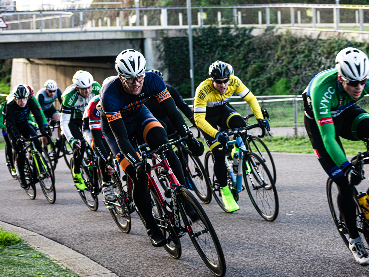 Bike racing in London