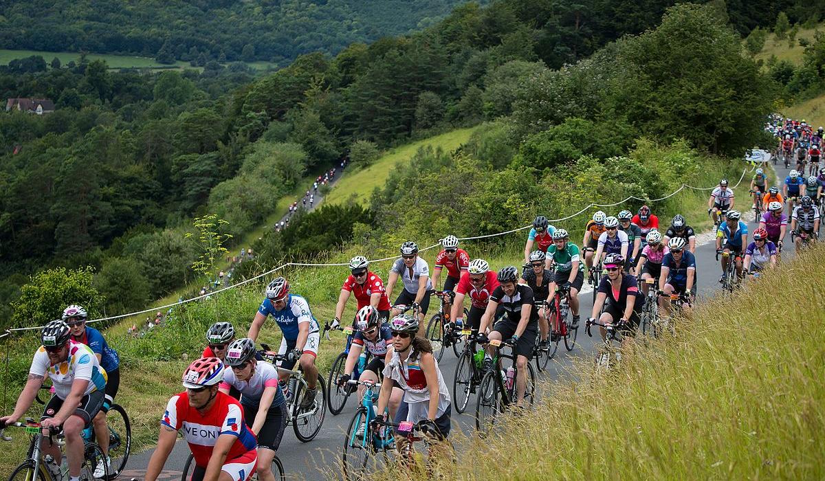 Box Hill cyclists
