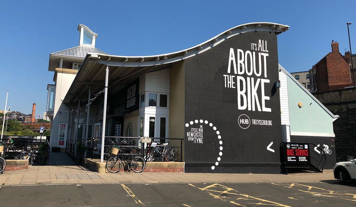 The Cycle Hub cafe
