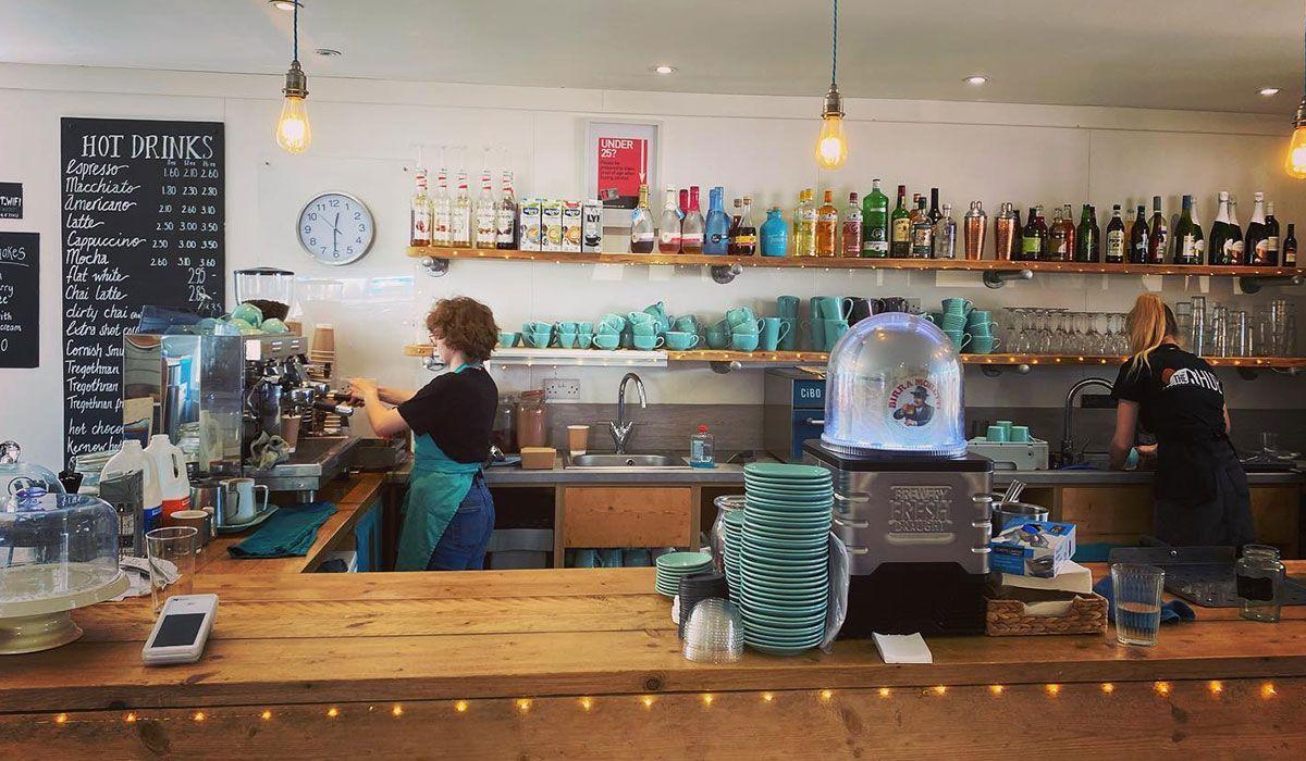 The Hub cafe Portreath