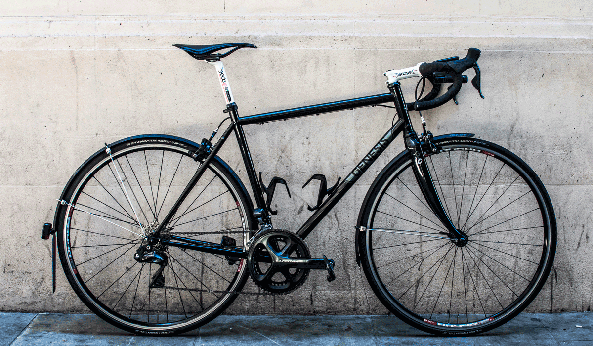 Genesis steel road bike