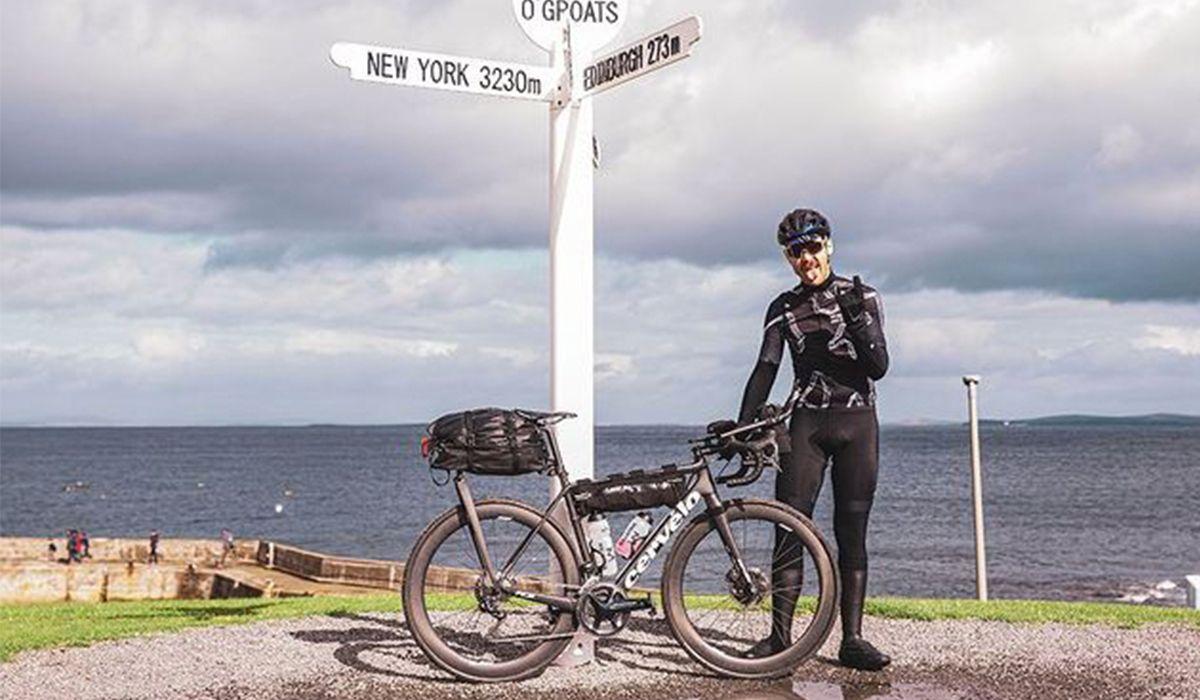 Chris Hall cyclist
