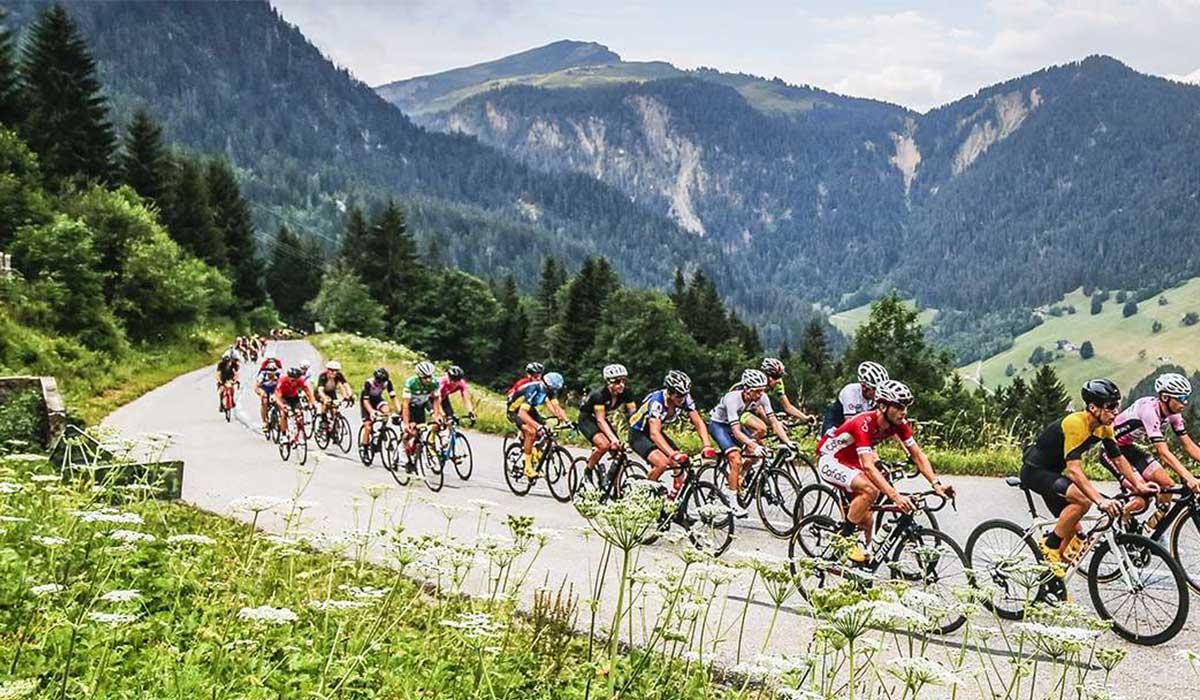 Etape du Tour sportive