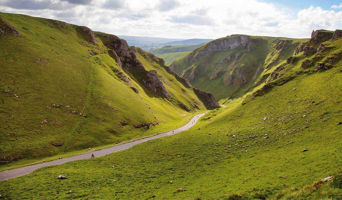 Peak District cycling