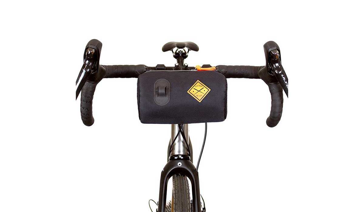 Canister bag for road bike