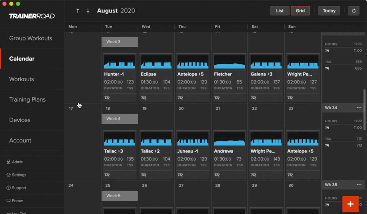 Trainerroad cycling