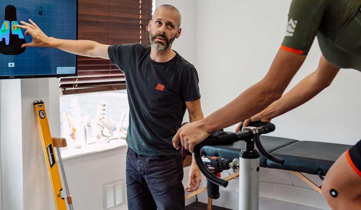Professional bike fit cycling
