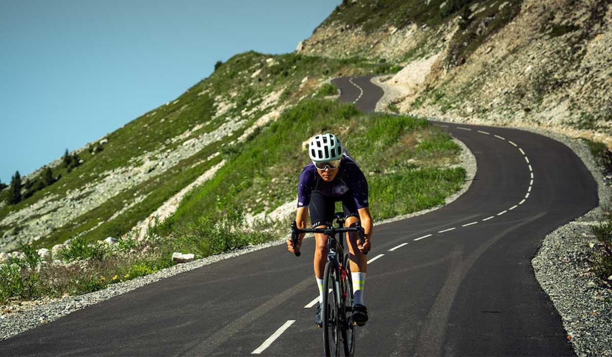 Col de la Loze cycling
